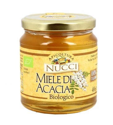 Miele di Acacia Bio 400 gr.