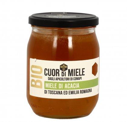 Miele di Acacia Biologico 700 gr.