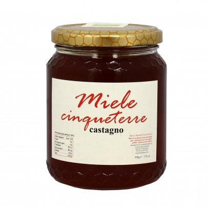 Miele Castagno Bio - Cinqueterre 500 g
