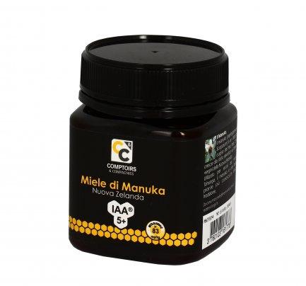Miele di Manuka IAA 5+ ( MGO >83 mg/kg)