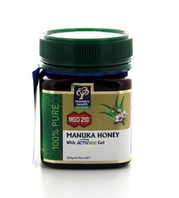 Miele di Manuka MGO 250+ con Aloe Vera 250 gr