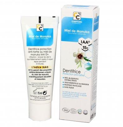 Dentifricio con Miele di Manuka IAA15+ Protezione Antiplacca