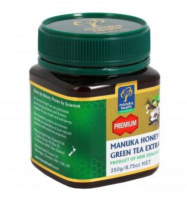 Miele di Manuka con Estratto di Tè Verde 250 gr.