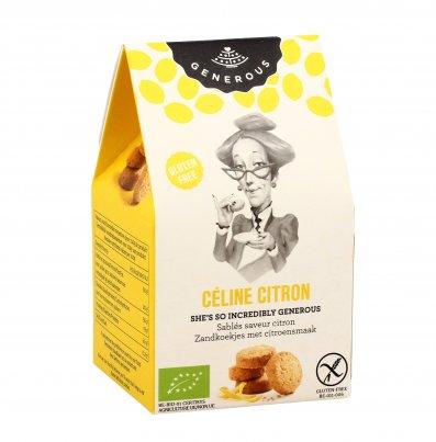 """Biscotti Frollini al Limone """"Céline Citron"""" Formato Mini (40 g)"""