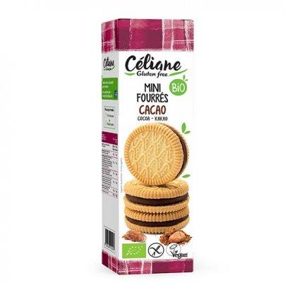 Biscotti Farciti al Cacao Senza Glutine