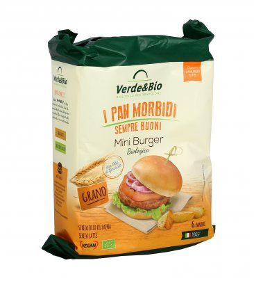 Mini Burger Vegani Bio - I Pan Morbidi