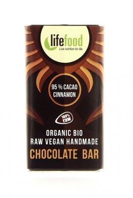Cioccolato Crudo al Cacao e Cannella