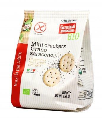 Mini Crackers Grano Saraceno e Semi di Papavero - Senza Glutine