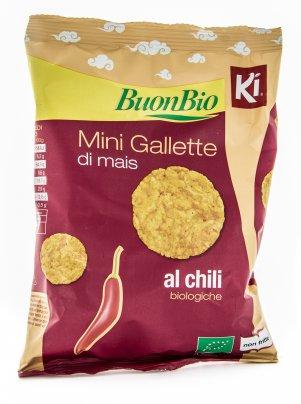 Mini Gallette di Mais al Chili
