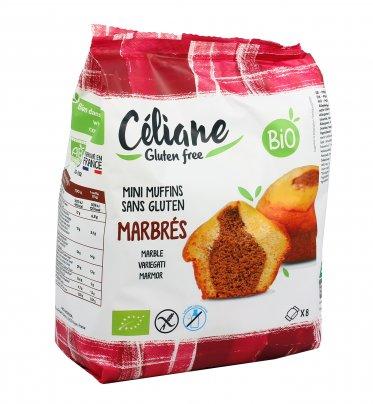 Mini Muffin Variegato al Cacao Bio - Senza Glutine