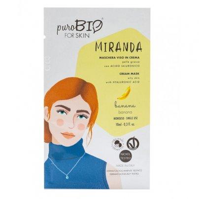 Maschera Viso in Crema Pelle Grassa - Miranda Banana