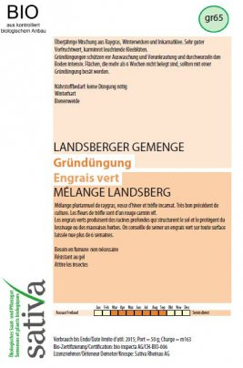 """Sovescio """"Miscela Landsberg"""" - gr65"""