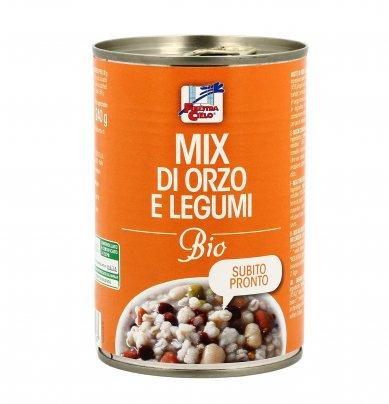Mix di Orzo e Legumi Bio in Lattina