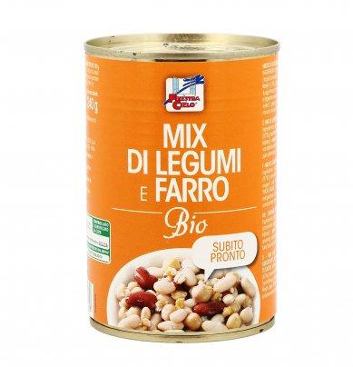 Mix di Legumi e Farro Bio
