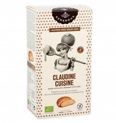 """Preparato Pane al Grano Saraceno """"Claudine Cuisine"""" - Senza Glutine"""