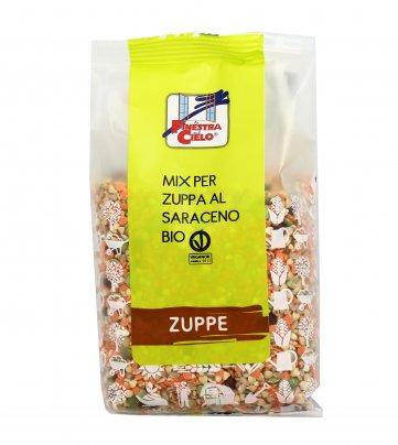Mix per Zuppa con Grano Saraceno Bio