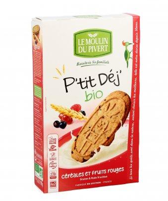 Biscotti ai Cereali e Frutti Rossi - P'tit Dej'