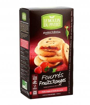 Biscotti Ripieni ai Frutti Rossi - Fourrés Fruits Rouges
