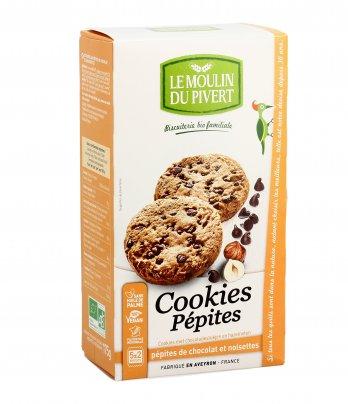 Cookies con Pepite di Cioccolato e Nocciole Bio
