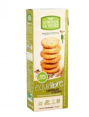 Biscotti con Cereali e Semi - Equi'libre