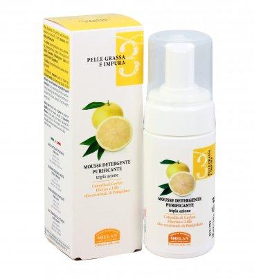 Mousse Detergente Purificante - Pelle Grassa e Impura 3