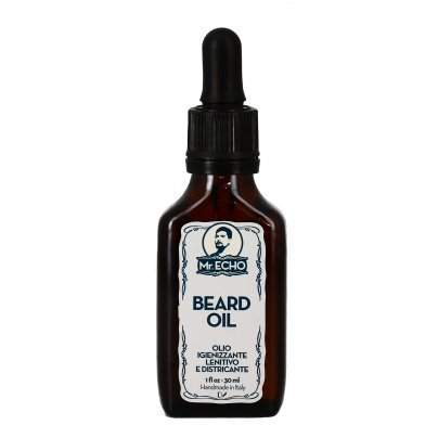 "Olio Lenitivo Barba e Rasatura ""Beard Oil"" - Mr.Echo"