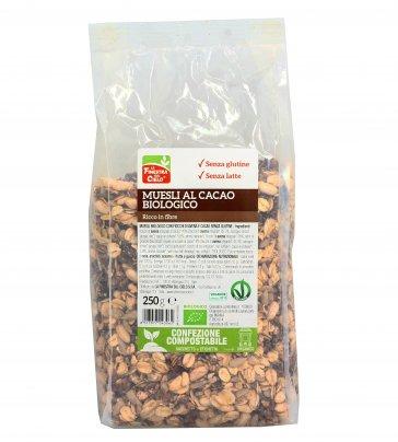 Muesli al Cacao Biologico Senza Glutine