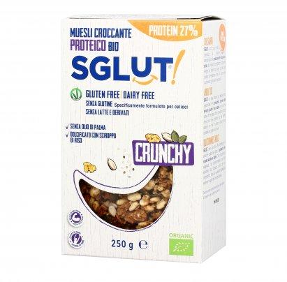 Muesli Crunchy Proteico 27% - Senza Glutine