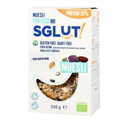 Muesli Crunchy Proteico 26% - Senza Glutine