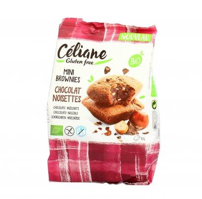 Muffin Brownies al Cioccolato  e Nocciole Senza Glutine