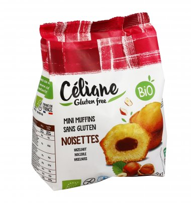 Mini Muffin alla Nocciola - Senza Glutine