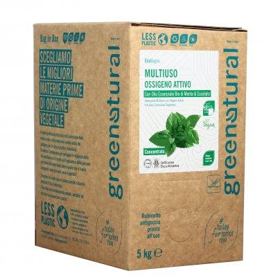 Detergente Multiuso all'Ossigeno Attivo Menta e Eucalipto - Eco Box Sfuso