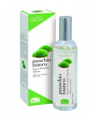 Essenza Muschio Bianco per l'Ambiente Spray 100 ml.
