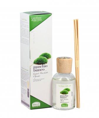 Essenza Muschio Bianco per l'Ambiente Bastoncini aromatici 100 ml.