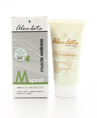 M Sport - Muscle Wellness Aloe Bio 50 ml