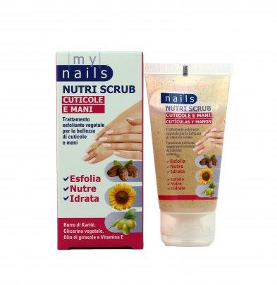 Trattamento Esfoliante per Cuticole e Mani - My Nails Nutri Scrub