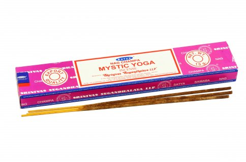 Incenso Mystic Yoga Incense - Nag Champa