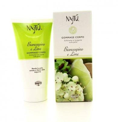 Biancospino e Lime Najtù - Gommage Corpo