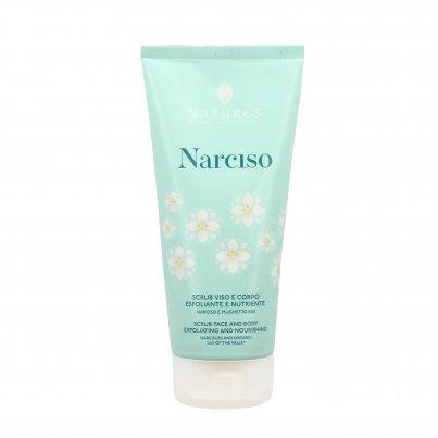 Scrub Viso e Corpo Esfoliante e Nutriente - Narciso