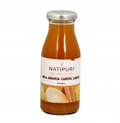 Succo Biologico di Mela, Arancia, Carota e Limone 200 ml