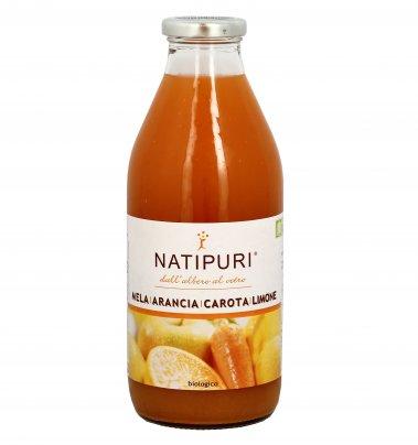 Succo Biologico di Mela, Arancia, Carota e Limone 750 ml