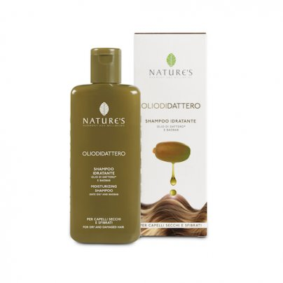 Shampoo Idratante con Olio di Dattero