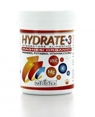 Hydrate 3 - Magnesio, Potassio, Vitamina C e Goji