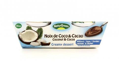 Dessert Cremoso - Cocco e Cacao