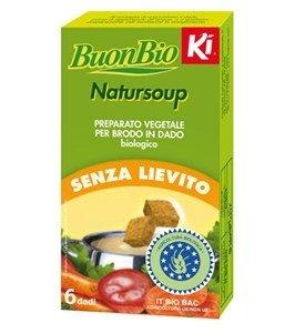 Natursoup - Preparato Vegetale per Brodo in Dado senza Lievito