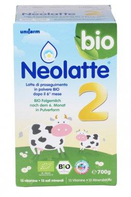 Neolatte 2 - Latte di Proseguimento in polvere Bio