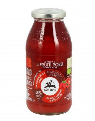 Succo di Frutta Bio - Nettare di 3 Frutti Rossi