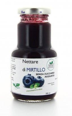 Nettare Extra di Mirtillo con Stevia 200 ml.