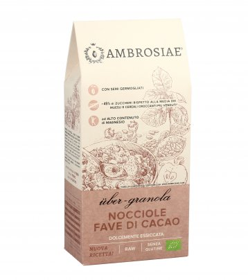 Granola Bio con Nocciole e Fave di Cacao
