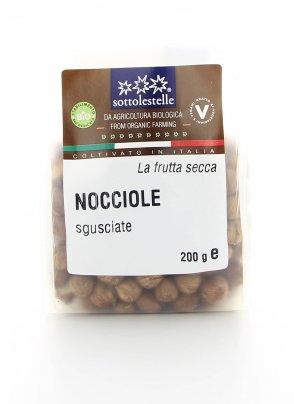 Nocciole Italiane Biologiche Sgusciate
